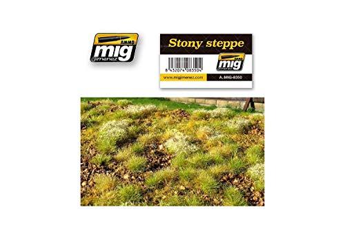 AMMO MIG-8350 Stony Steppe - Alfombrillas para césped