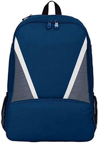 Augusta Sportswear Einbaum Baseball Bat Rucksack NAVY/GRAPHITE/WHITE