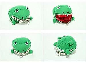 CITY Naruto mignon grenouille verte pièce sac Cosplay accessoires peluche sac à main pochette