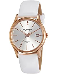 Akribos XXIV Reloj con movimiento japonés Woman  34 mm
