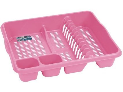 By pink-princess.co.uk Baby Pink Dish Drainer
