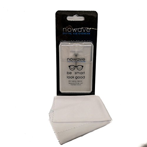 Spray pour lunettes, écran (PC, tablettes, smartphones et TV) et objectifs photographiques. Formulation écologique. 100% anti-bactérien et anti-statique. 0% abrasifs, alcool, ammoniac et substances pétrochimiques. Non toxique et hypoallergéniqu