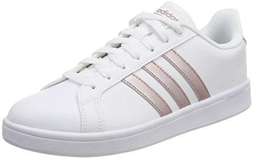 adidas CF Advantage W, Scarpe da Tennis Donna, Bianco Vagrme/Ftwwht, 37 1/3 EU