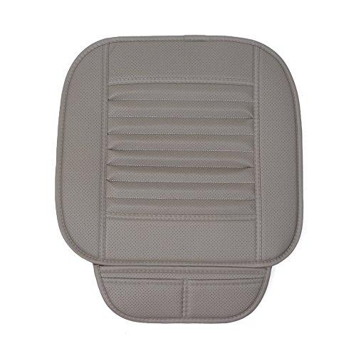 Preisvergleich Produktbild Auto Sitzbezug, Sitzauflagen Auto Sitzkissen Mit PU Leder Sitzbezüge Auto für Allgemeine Modelle (Grey)
