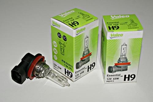 H9 12V 65W PGJ19-5 Birnen Valeo Essential Lichter Beleuchtung 2 Stück