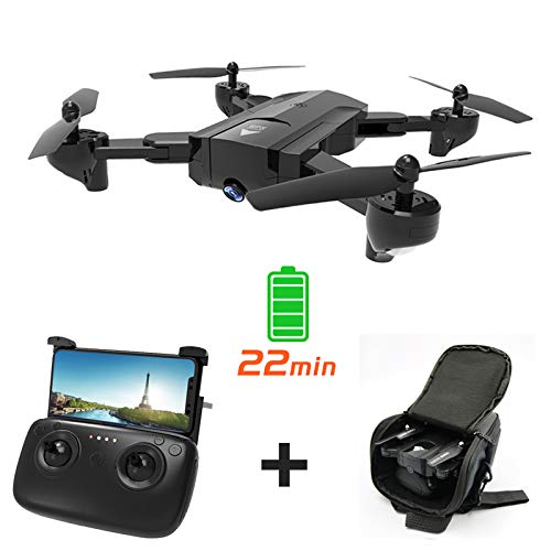 Faironly SG900-S GPS WiFi FPV 1080P HD Caméra 22 Minutes Temps de vol Pliable RC Drone Quadcopter 3 Battery