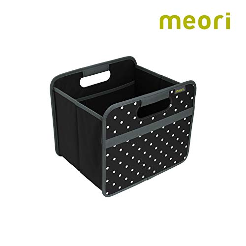 Faltbox Classic Small Lava Schwarz / Punkte 32x26,5x27,5cm abwischbar stabil Polyester Schlafzimmer Bad Flur Staubox Schmuck Kosmetik Accessoires Aufbewahren