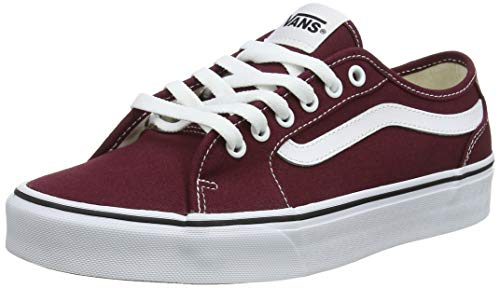 Vans Filmore Decon, Baskets Homme, Rouge ((Canvas) Port Royale/White 8j7) 45 EU