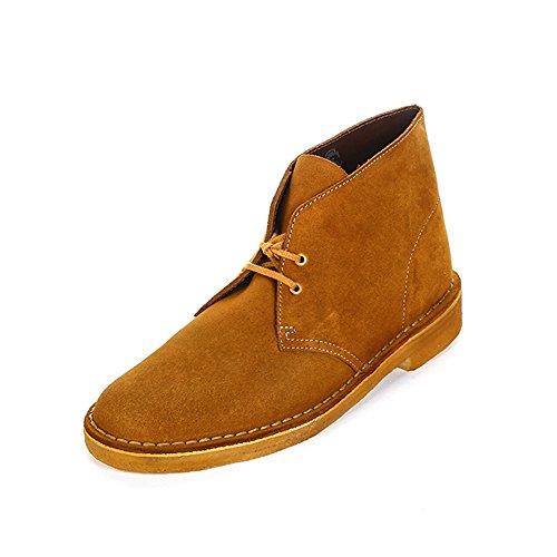 Clarks Originals Desert Boot, Stivali Chukka Uomo Marrone (Bronze/Brown)