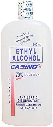 Casino Ethyl Alchohol 70% Solution 500 mL