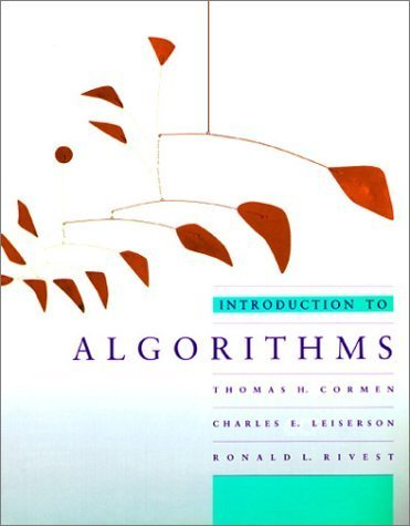 Introduction to Algorithms (MIT Electrical Engineering and Computer Science) Hardcover ¨C June 18, 1990