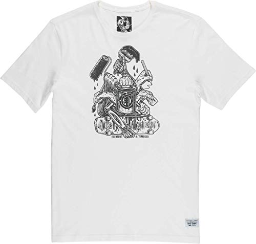 x Timber by Hand T-Shirt - Off White Größe: M Farbe: Black/White -