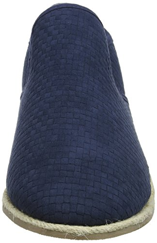 New Look Weave, Mocassins Homme Bleu (Navy 41)