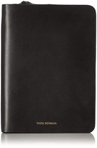 Black Leder Passport Wallet - Royal RepubliQ Damen Galax Passport Wallet-