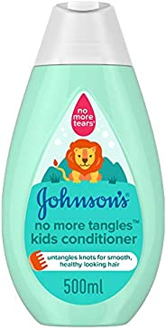 JOHNSON'S Kids Conditioner - No More Tangles, 500ml