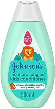 JOHNSON'S Toddler & Kids Conditioner - No More Tangles, Formula Free of Parabens & Dye