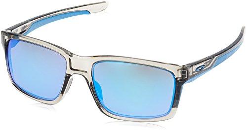 Oakley Sonnenbrille Mainlink, Grau (Grey Ink/ Sapphire Irridium), OO9264-03