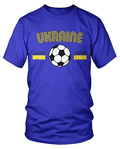 Kostüm Der Ukraine - Men's Ukrainian Soccer, Ukraine Football T-Shirt XL