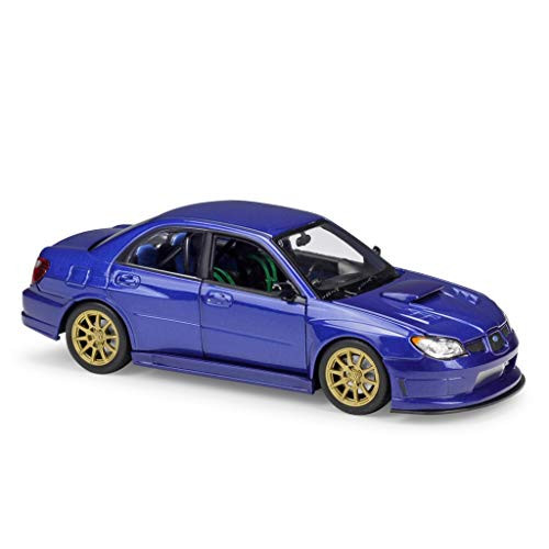 4 Car Racing Gaoqun Colección RegaloscolorBlueSize Impreza 1 Decoración 24 Alloy Wrx 178 5cm Subaru Toy Sti Model 8vNwOmn0