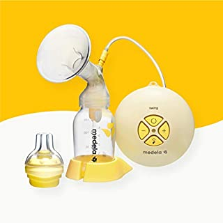Medela Swing breast pump - single electric breast pump for every day use