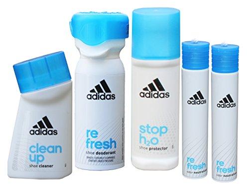 adidas Schuhpflege Set Nr. 1: Reinigung, Pflege, Schutz und Frische für Sportschuhe und Sneaker
