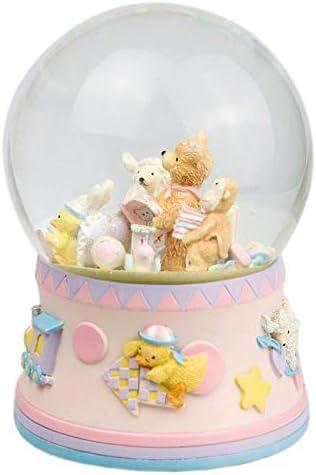 GSKTY Carrousel Crystal Ball Cubs Music Box Box Box Music Box 10 * 10 * 14. 5 cm | Exquis  49d111