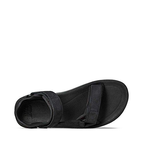 Teva Herren M Original Universal Premier-Leather Sandalen Schwarz