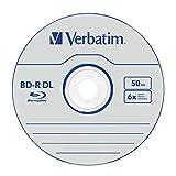 Verbatim 43746 BD-R DL 50GB 6x - 10 Pack Spindle
