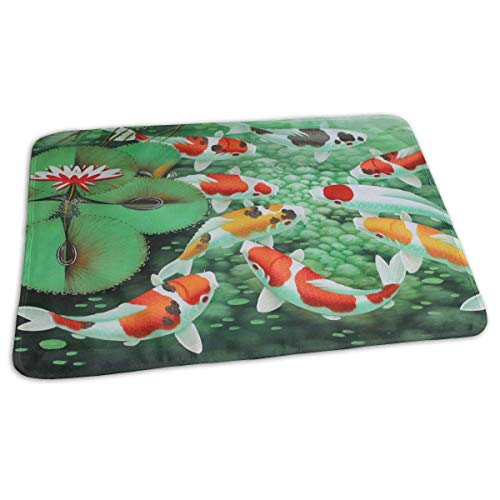 Baby Changing Pad Liners HD Japanese Koi Fish Daily Use Diaper Changing Pad Mats Portable Pad 25.5x31.5 Inches