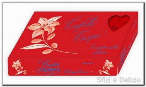 Crispo confetti alla mandorla extra pelata rossi 1 kg confettata laurea