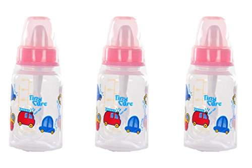 Tiny Care Diamond Baby Feeding Bottle(Pack Of 3,120 Ml)