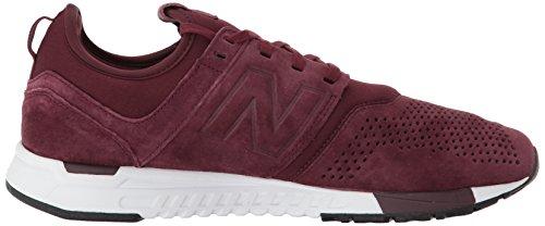 New Balance 247 Herren Sneaker Schwarz LR burgundy