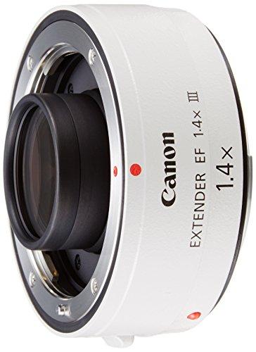 CANON EF 1 4X III   ADAPTADOR PARA OBJETIVOS DE CAMARAS CANON EF 70 200MM F/2 8L  EF 70 200MM F/2 8L IS  EF 70 200MM F/4L  EF 100 400MM F/4 5 5 6L  COLOR BLANCO