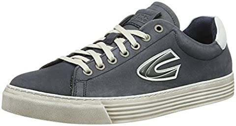 camel active Herren Bowl 22 Low-Top, Blau (Navy/White 03), 45 EU