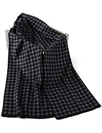 SEW ELEGANT Sciarpe scozzesi calde Sciarpe classiche ed eleganti di affari  del tessuto a strisce a 1b57698a7e66