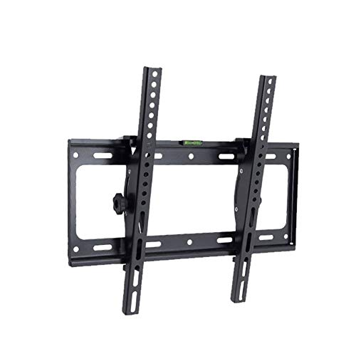 Exing TV Wall Bracket, Universal Adjustable 50 KG TV Wall Mount Bracket Flat Panel TV Frame Support 15 Grad Tilt mit kleinem Schlüssel für 26-55 Zoll Flat Panel Swivel Wall Mount