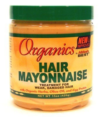 Africa's Best Organics Cheveux Mayonnaise Bocal de 443 ml (Traitement) (3-Pack)