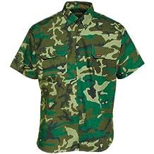 Benisport - Camisa de manga corta, para niño talla 34, color camuflaje