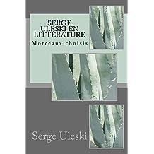Serge ULESKI en littérature