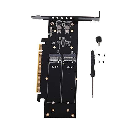 planuuik M.2 X16 auf 4X NVME pieceIE3.0 GEN3 RAID Card pieceI-E VROC Card RAID NVMEx4 Adapter