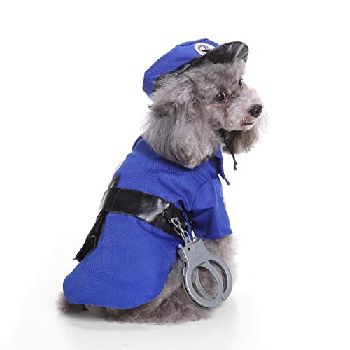 NSHK Halloween Pet Kostüm Puppy/Hund Jacke mit Hut -