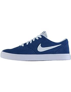 843895-410 Men's Nike SB Check Solarsoft Skateboarding Shoe