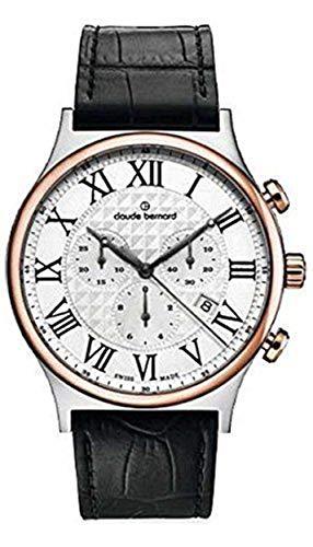Claude Bernard by Edox Classic Dress Chronograph Men's Watch 10217.357R.AR