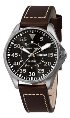 Hamilton Khaki Aviation H64611535 Reloj elegante para hombres Legibilidad Excelente
