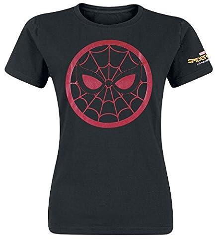 Spider-Man Homecoming - Shimmer Ink T-shirt Femme noir M