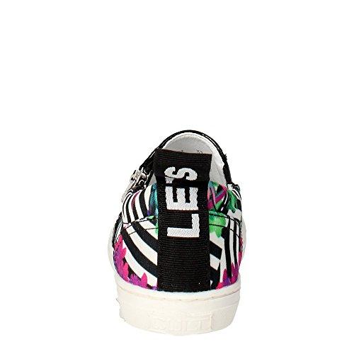 Cult CLJ101478 Slip-on Chaussures Fille Blanc/Noir