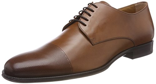 BOSS Business Cambridge_Derb_ctls, Herren Derby, Braun (Medium Brown 210), 43 EU (9 UK)