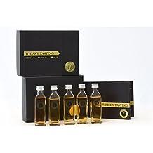 SPIRIT TASTING - Whisky Tasting Paket (5x40ml) - Whiskey Probieren (DryFly, Glen Kirk, Slyrs, Jameson, Laphroaig)