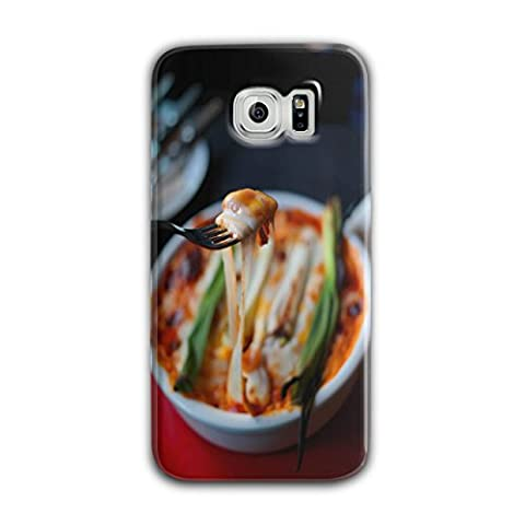 Pasta Recipe Kitchen Food Tasty Meal 3D Samsung Galaxy S6 Case | Wellcoda