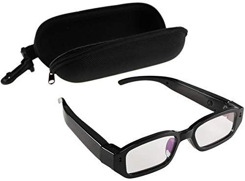 Brille mit Kamera CT-Glass FHD Video Full HD 1920x1080p Akku Aufladbar I Action Kamera für Boulder, Biker, Downhill